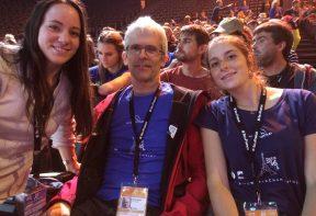De gauche à droite : Lara, Yannick & Claire